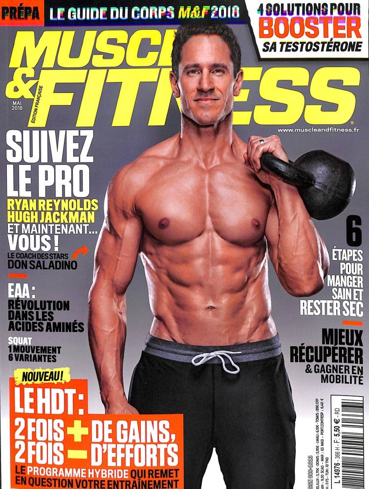 1304 MUSCLE ET FITNESS