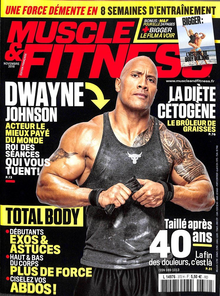 2- MUSCLE ET FITNESS