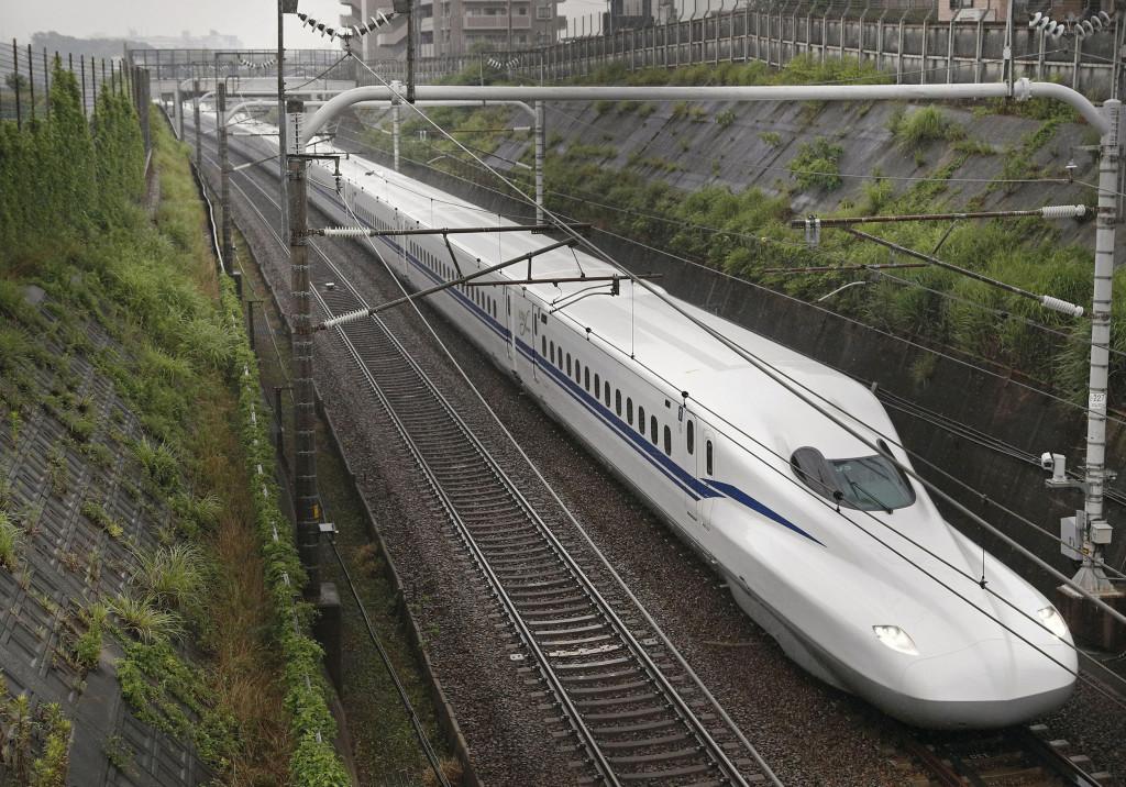 New shinkansen bullet train